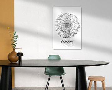 Cotopaxi | Topographie de la carte (minimum) sur ViaMapia