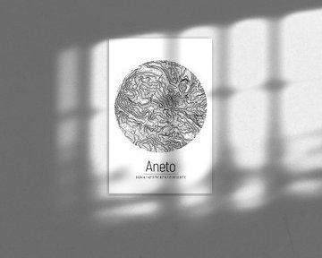 Aneto | Kaarttopografie (Minimaal) van ViaMapia