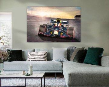 Max Verstappen à Zandvoort en 2020 sur Arjen Roos