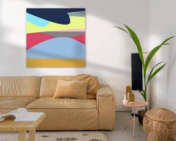 Landschaft modern von Nicole Habets