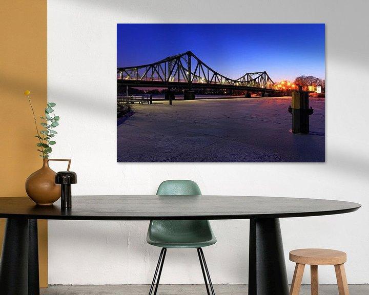 Sfeerimpressie: Glienicke-brug van Frank Herrmann