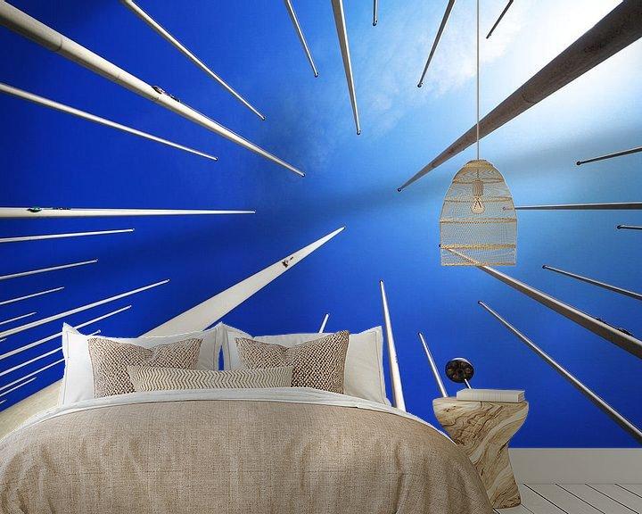 Impression: Mâts et ciel bleu sur Frank Herrmann