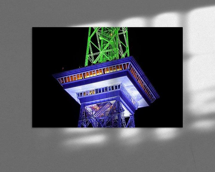 Impression: La Funkturm de Berlin sous un jour particulier sur Frank Herrmann