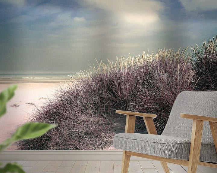 Sfeerimpressie behang: 2891 Dune grass van Adrien Hendrickx