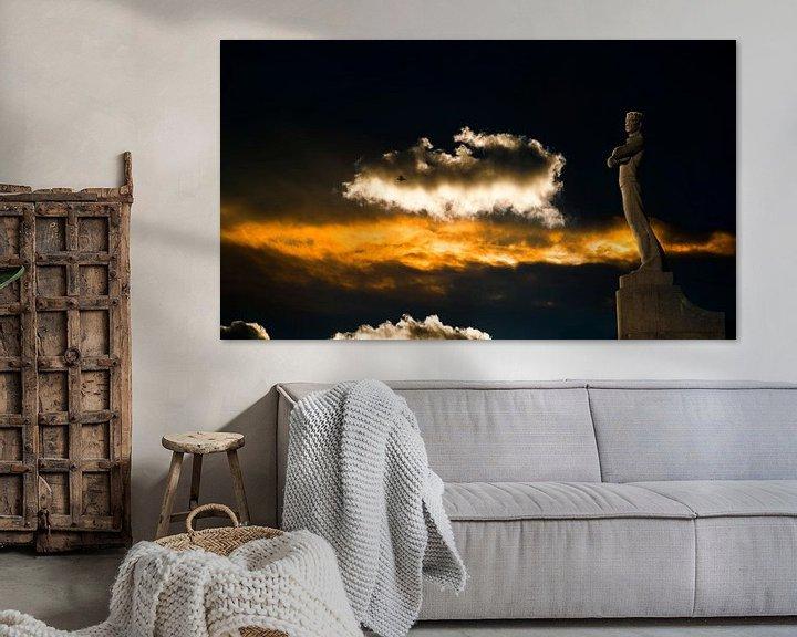 Sfeerimpressie: 2760 Zeeliedenmonument van Adrien Hendrickx