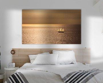 2347 Segeln auf der Nordsee von Adrien Hendrickx