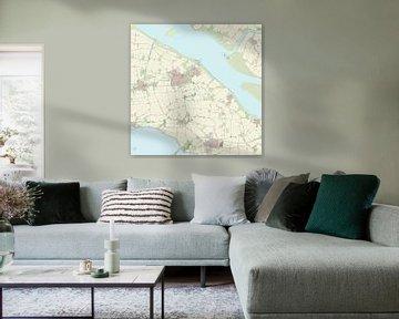 Kaart van Middelharnis