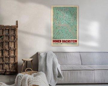 Hoher Dachstein | Landkarte Topografie (Retro) von ViaMapia