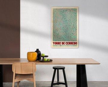 Torre de Cerredo | Landkarte Topografie (Retro) von ViaMapia