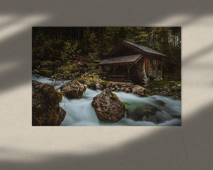 Beispiel: Gollinger Wasserfall von Heiko Lehmann
