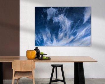 Sierlijke wolken van europe photography