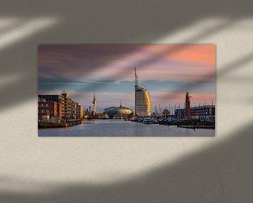 Bremerhaven Skyline, Duitsland van Adelheid Smitt