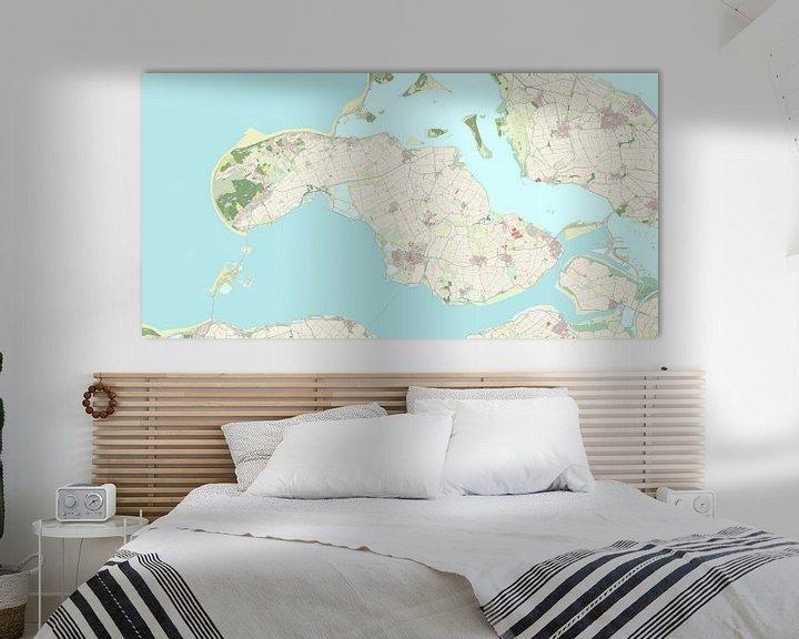 Sfeerimpressie: Kaart vanSchouwen-Duiveland