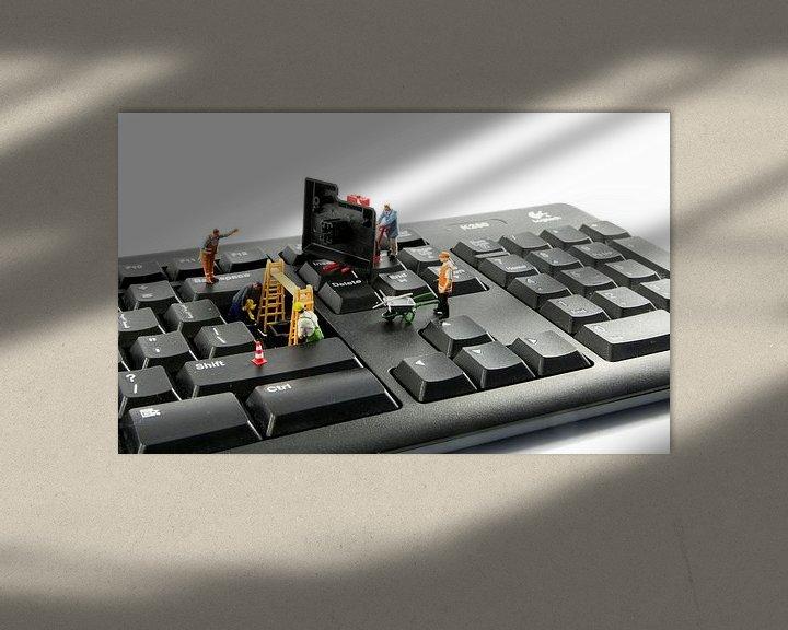 Sfeerimpressie: computer reparatie door little world van Compuinfoto .