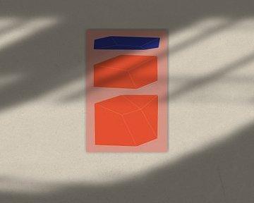 Minimalistische geometrie nr. 9 van Pascal Deckarm