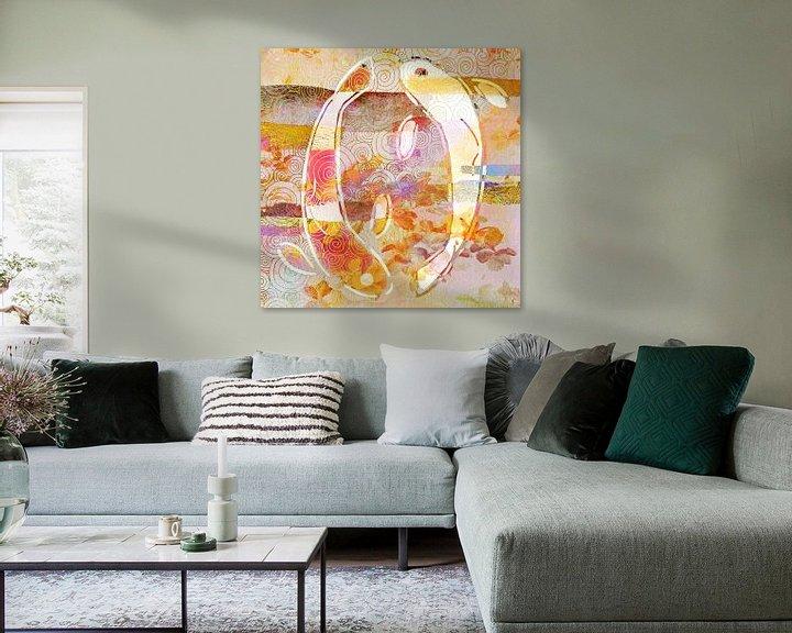 Beispiel: Yin-Yang-Koi von Jacky Gerritsen
