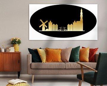 skyline van Amsterdam