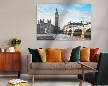 Big Ben, Londen van Daphne Groeneveld