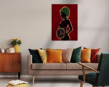 African Love van Ilse Schrauwers, isontwerp.nl