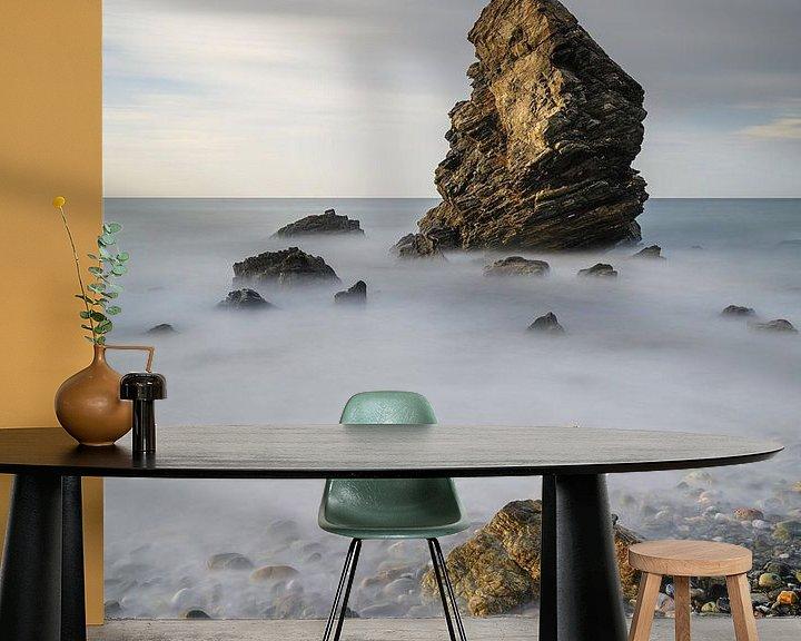 Sfeerimpressie behang: De rots van Robin Oelschlegel