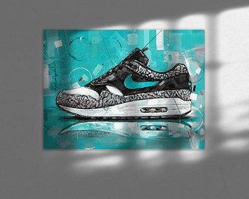 Peinture Nike air max 1 Atmos Elephant sur Jos Hoppenbrouwers
