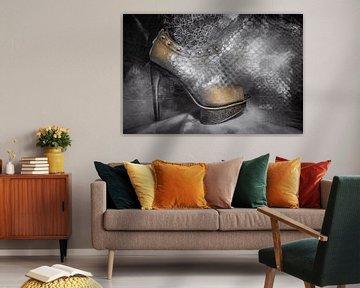 Goldener Schuh von Marijke de Leeuw - Gabriëlse