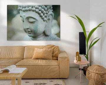 Boeddha in de tuin