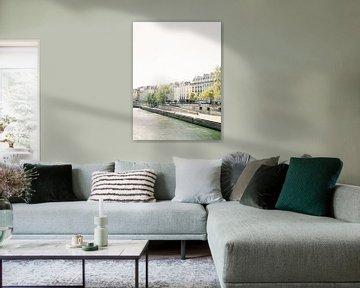 De Seine in Ile Saint-Louis, Parijs | Fine Art Reisfotografie van Michelle Wever