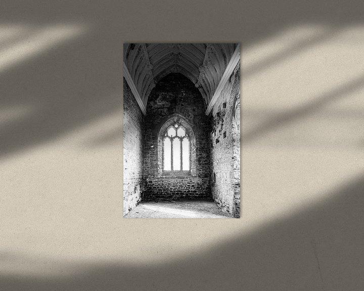 Sfeerimpressie: Tortelduifjes in zwart wit van Anneke Hooijer
