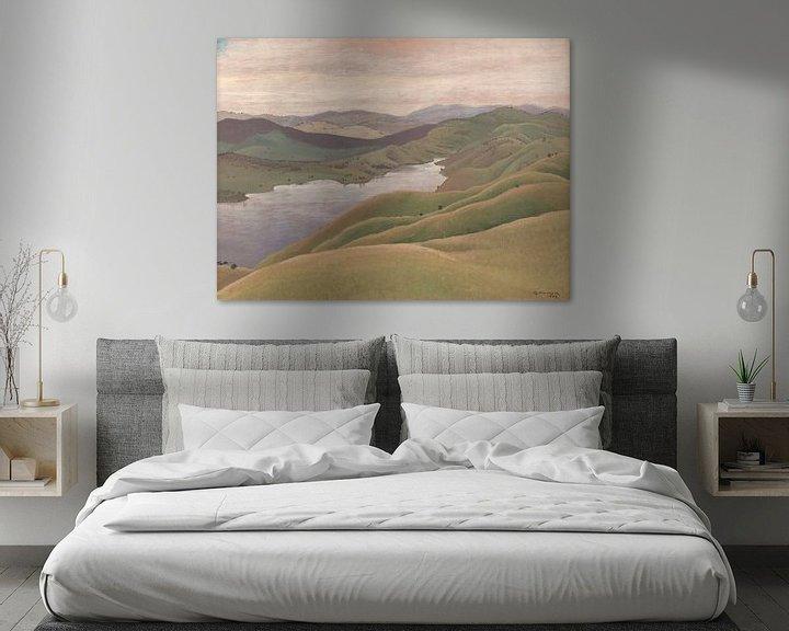 Beispiel: Landschaft, Elioth Gruner