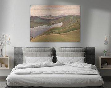 Landschaft, Elioth Gruner