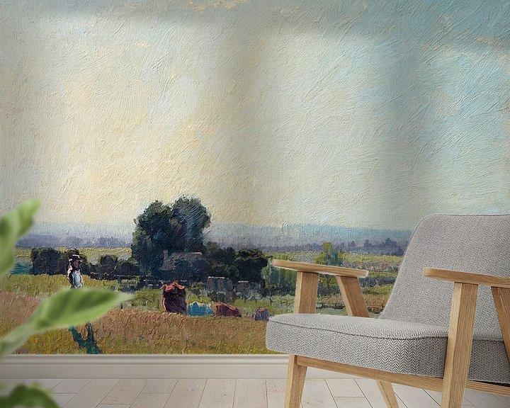 Beispiel fototapete: Morgenlicht, Elioth Gruner