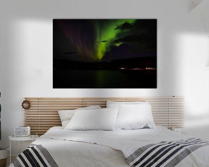 Beispiel: Nordlicht in Island von Joke Beers-Blom