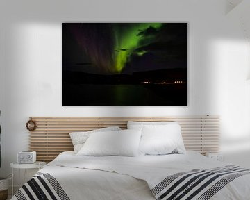 Nordlicht in Island von Joke Beers-Blom