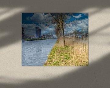 Repos sur le canal Zuid-Willemsvaart à Weert sur JM de Jong-Jansen
