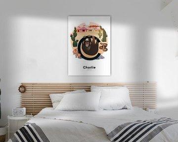 Namensplakat Charlie von Hannahland .