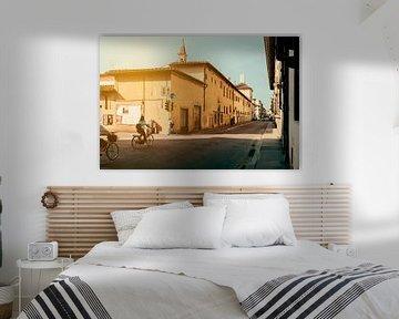 Fietsers in Florence van Studio Reyneveld
