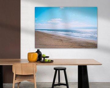 Le blues de la plage sur Daphne Groeneveld