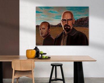 Breaking Bad Schilderij 2 van Paul Meijering