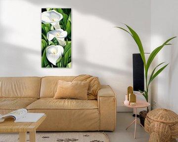 Lilies von Catherine Abel