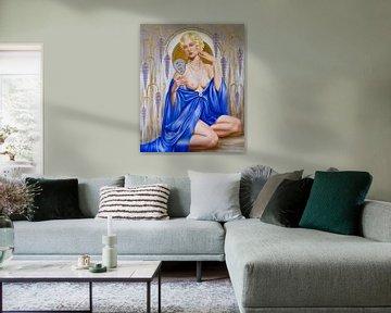 Rhapsody in Blue von Catherine Abel