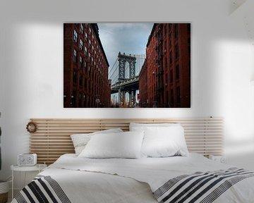 Manhattan Bridge DUMBO Brooklyn New York City van Bram van den Broek