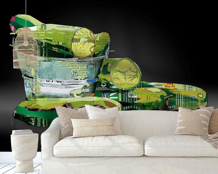 Sfeerimpressie behang: Komkommer, zonder verpakking van Ruud van Koningsbrugge
