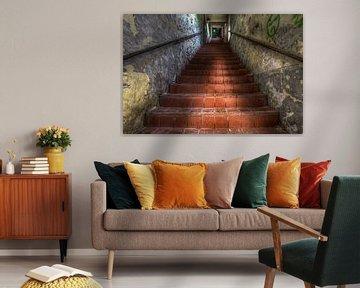 Treppe zu.......... von Eus Driessen