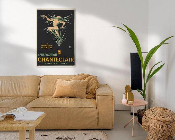 Beispiel: Nackter Sportler ausgelaufen, ein Peeling-Medikament auf einem Werbeplakat. von Atelier Liesjes