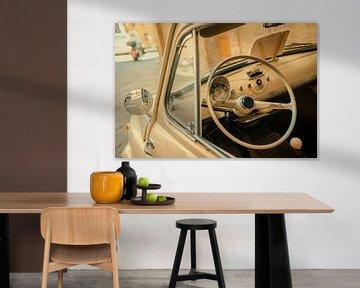 Fiat 500 in Siena van Studio Reyneveld