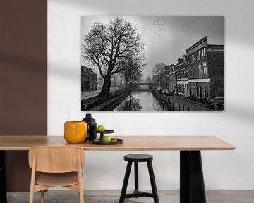 La ville déserte d'Utrecht