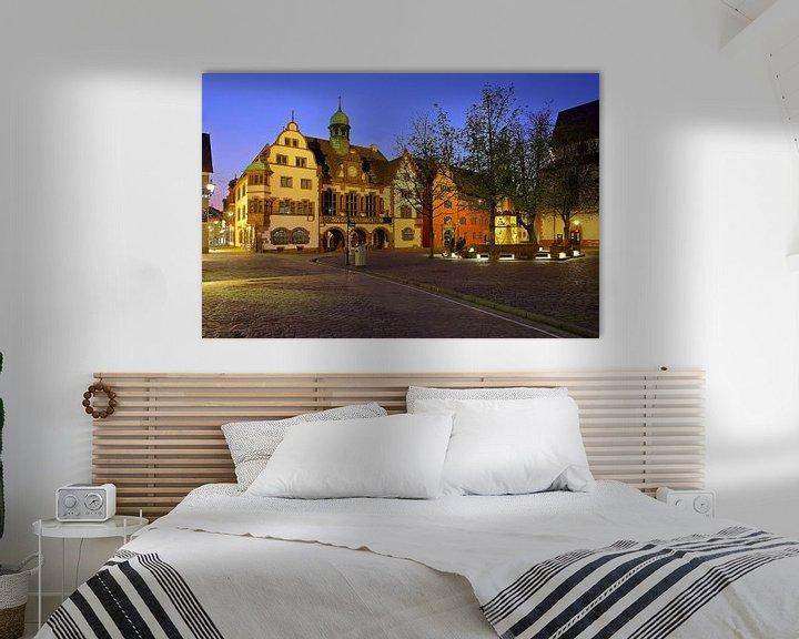 Beispiel: Rathausplatz Freiburg von Patrick Lohmüller