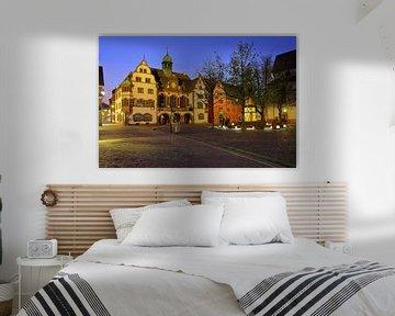 Stadhuisplein Freiburg van Patrick Lohmüller