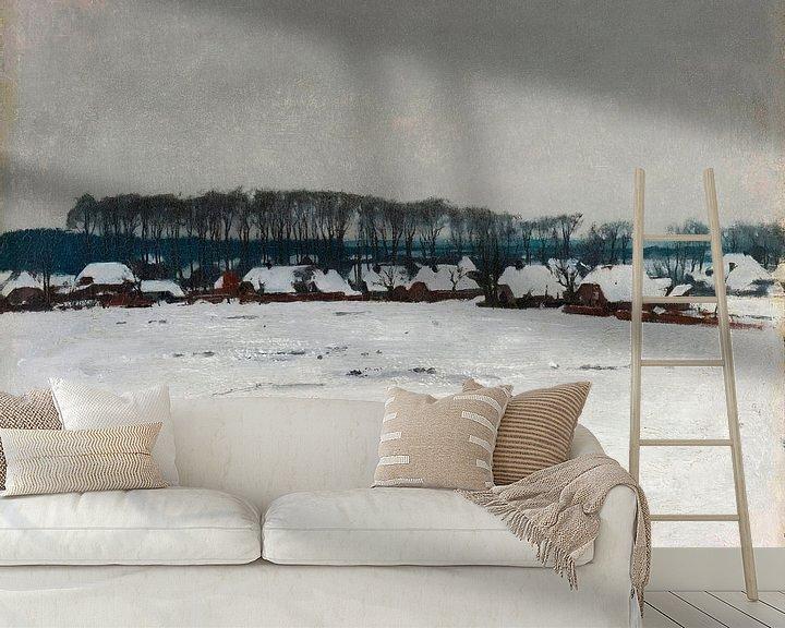 Beispiel fototapete: Winterlandschaft, Willem Witsen